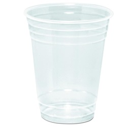 16PX DART 16 OZ CLEAR PLASTIC COLD CUP, 1000/CS