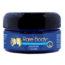 Rare Body® Essential Mineral Body-Butter Unscented (1.5 oz)
