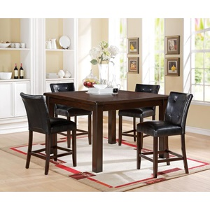 71145 BR/CHERRY COUNTER HEIGHT TABLE