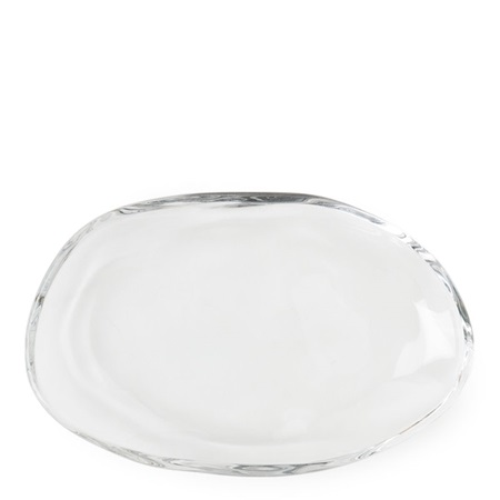 "Hineri 5.7"" X 3.7"" Glass Plate"