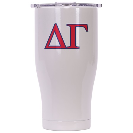 Delta Gamma Pearl/Clear Chaser 27oz