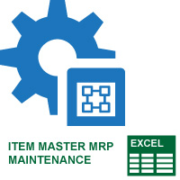 Item Master MRP Maintenance