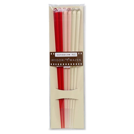 Chopsticks Acrylic Red Set/3