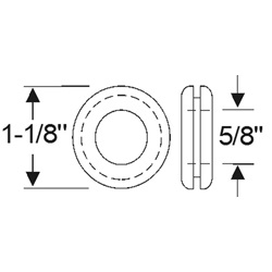Multi-Purpose Grommet 1-1/8""