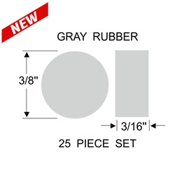 Jalousie Glass Retainer Discs