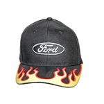 Ford Ball Cap (Yellow Red Flames)