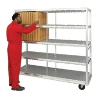 New Age Industrial Extra Heavy Duty 144 Insulated Tray Drying Rack