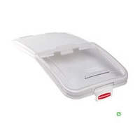 Rubbermaid FG9F7900CLR Ingred Bin Lid W/Scoop for 27 Gal Ingred Bin