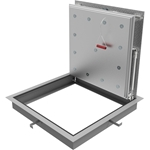 Fire-Rated Diamond Tread Floor Door