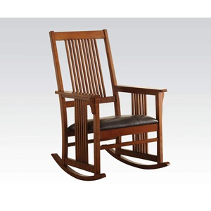 59214 TOBACCO ROCKING CHAIR