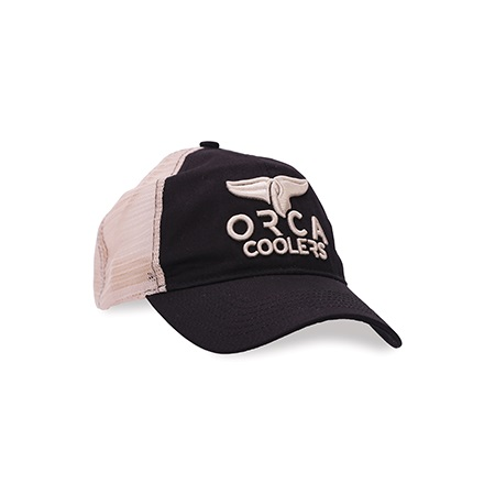 Black Low Profile Trucker Hat