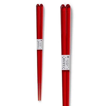 Chopsticks Acrylic Red