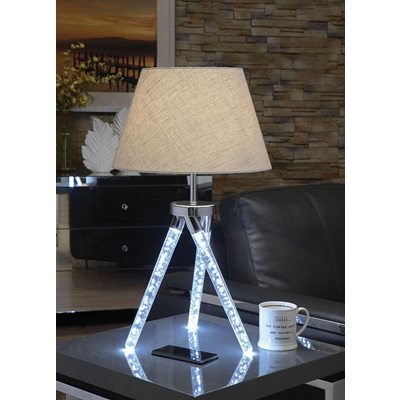 40133 CHROME TABLE LAMP