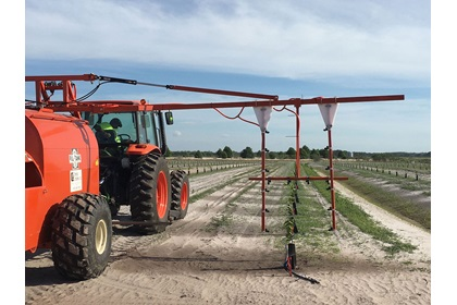 Custom Hoop Boom for Powerblast Sprayers