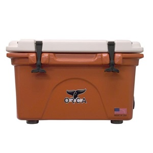 Burnt Orange/White 26 Quart