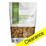 Sprouted Oat Granola (Honey Hemp), ORG - 11oz (Clearance)