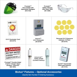 Biolux Optional Accessories for All Fixtures