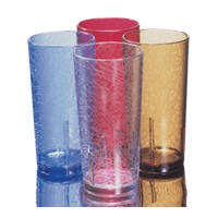 Cambro 14 oz. Clear Del Mar Tumblers