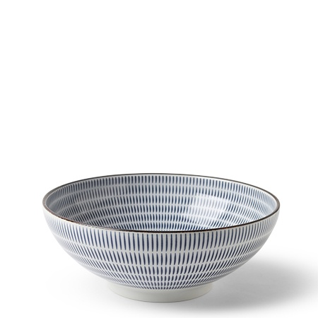 "Sen Colors 8.25"" Bowl - Navy"