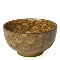 "SEPIA 5"" FLOWER BOWL"