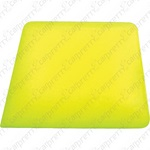 Yellow Square Corner Hard Card