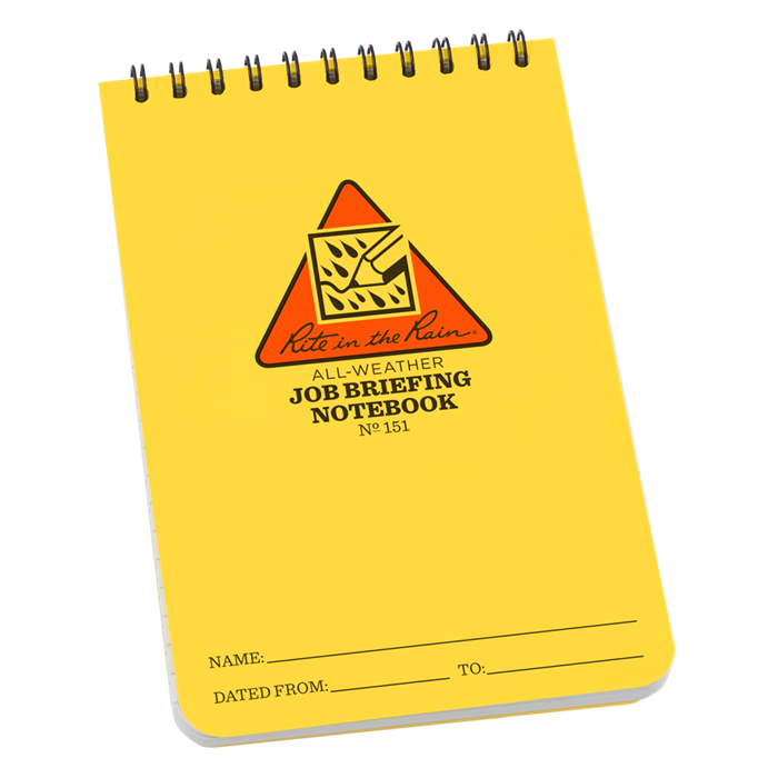 Rite In The Rain Job Safety Notebooks
