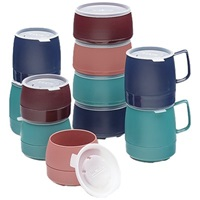 Dinex DX119750 Insulated Mug 8 oz Capacity