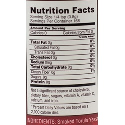 Bakon Hickory Smoke Seasoning  - Nutritional Facts