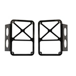 2007-14 Jeep JK Tail Lamp Guards-Black