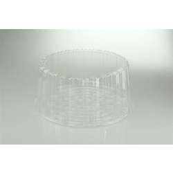 "10.75 X 5 10"" CAKE CONTAINER WITH DOME LID,"