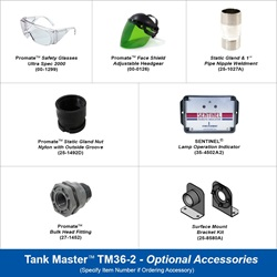 Tank Master™ UV Tank Storage Sanitizers - Two Lamp Units (Lamps Included)