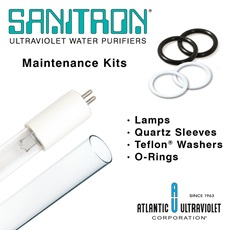 SANITRON® UV Water Purifier Maintenance Kits