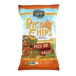 Rice Chips, Pico De Gallo - 6oz