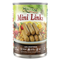 Heritage Foods, Breakfast Mini Links - 19oz