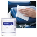 Athletix Equipment Cleaning Wipes, 900 Wipe/Roll, 4 Roll/Case