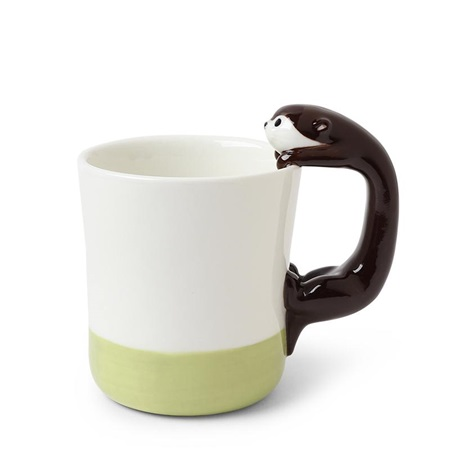 Otter 8 oz. Mug Green