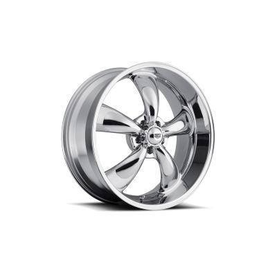 1964-73 Mustang Classic Wheel (Chrome, 17 x 8 with 5? Backspace)