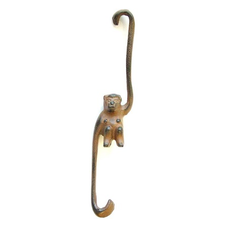 Cast Iron Monkey Hook