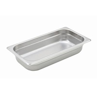 "Economy Anti-Jam 1/3 Size, 2-1/2"" D Steam Table Pan"