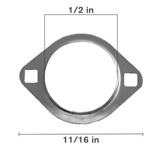 Stamped Steel 2 Bolt Flange