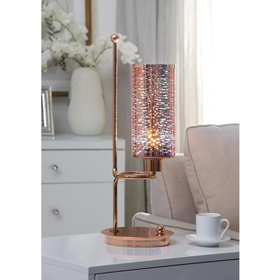 40132 ROSE GOLD TABLE LAMP
