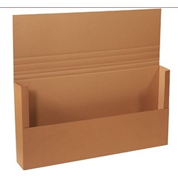 "48 X 24 X 6"" ECT32C CORRUGATED MAILERS, MULTI-DEPTH 1,2,4,6    20/BD"