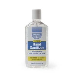 HAND SANITIZER 8 OZ.