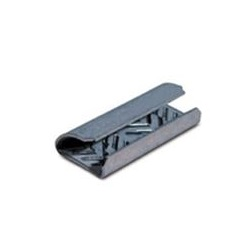 "5/8"" SERRATED OPEN / SNAP ON POLYESTER STRAPPING SEALS, 1000/CS    PSS58OPEN"