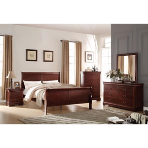 23747EK LOUIS PHILIPPE E. KING BED
