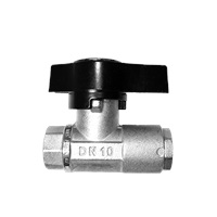 "MTM Hydro 1/2"" Premium Plated Brass Ball Valve"