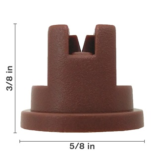 Polyacetal Brown 80° Nozzle Spacing