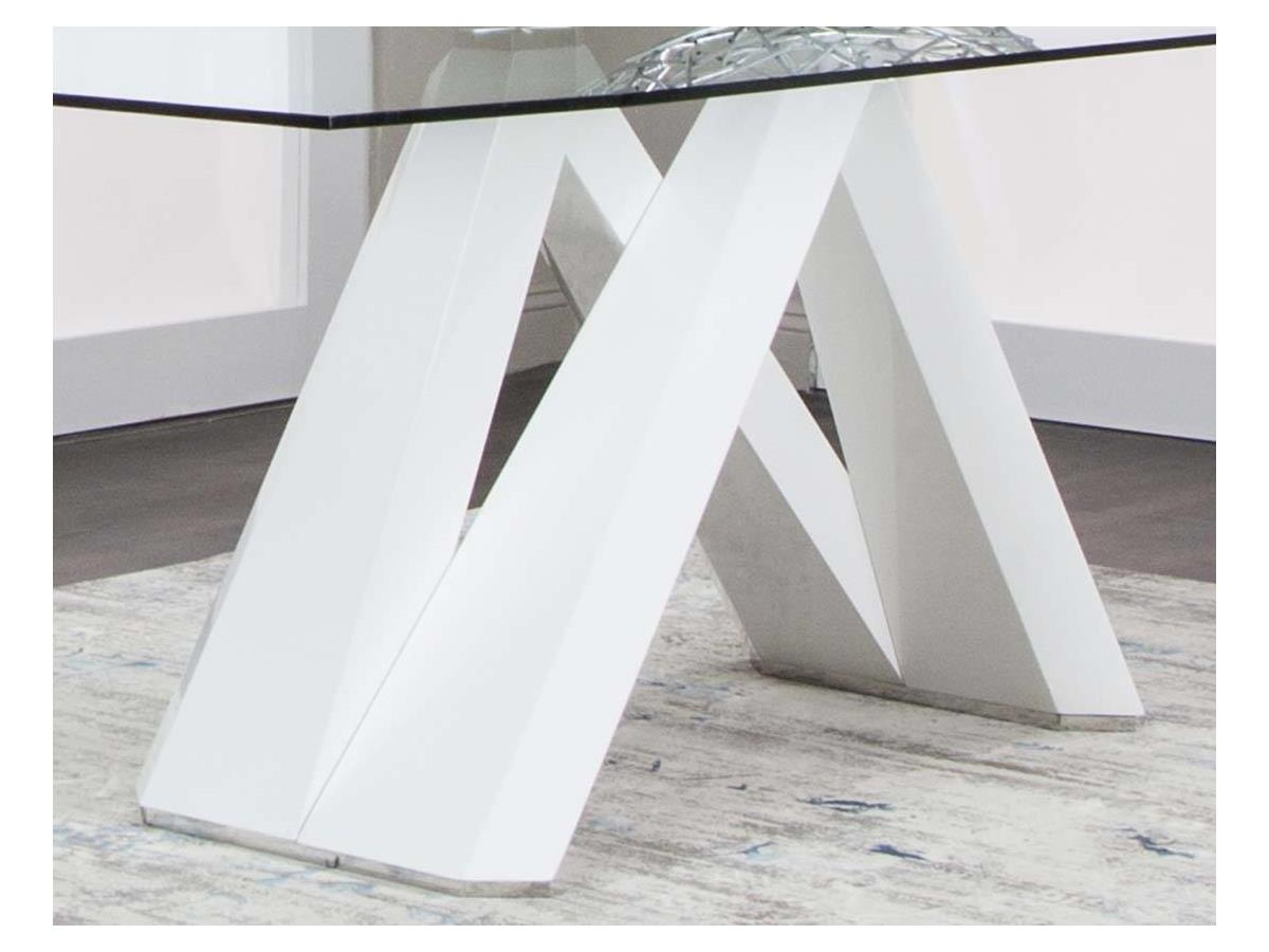 CORTINA-WHITE TABLE BASE P2