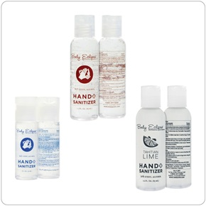 Body Eclipse Spa - Personal Use Hand Sanitizers - (1 & 2.2 Oz.)