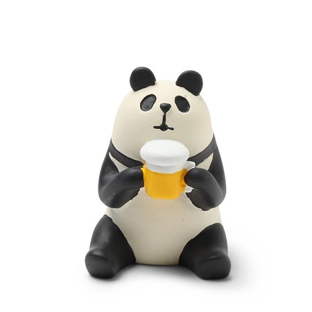 Figurine Panda with Beer
